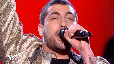 """THE VOICE 2020 - Enzo S chante """"Il suffira d'un signe"""" de Jean-Jacques Goldman (KO)"""