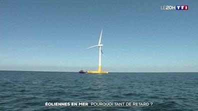 Éoliennes en mer : pourquoi la France est-elle si en retard ?