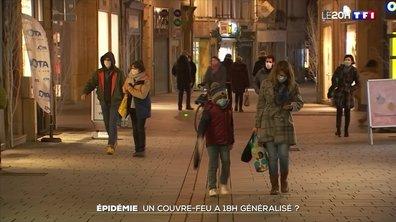 Épidémie : couvre-feu à 18h généralisé ?