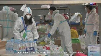 Epidémie : de nouveaux confinements imposés en Chine