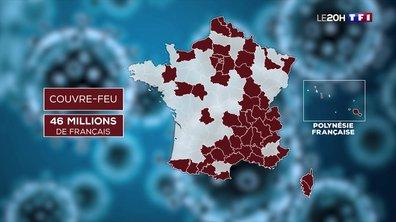 Épidémie : la moitié de la France sous couvre-feu