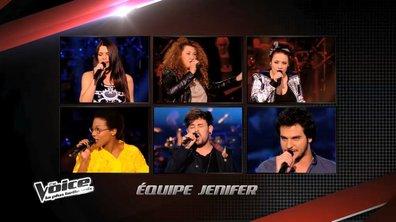 The Voice 3 : L'équipe définitive de Jenifer pour les grands shows en direct (PHOTOS)