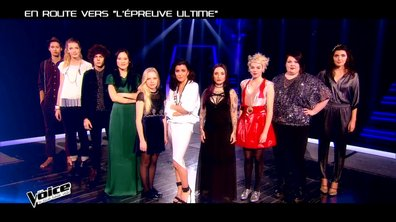 The Voice 4 : Les neuf talents de la Team Jenifer  pour l'Epreuve Ultime