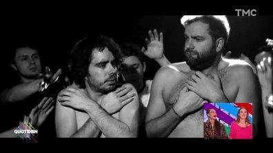 Eric et Quentin, jeunes espoirs du cinéma français, découvrez leur clip