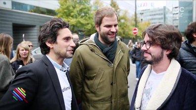 Eric et Quentin soutiennent Itélé