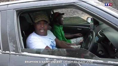 Éruption à Saint-Vincent : la nuit en plein jour
