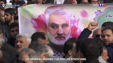 Escalade de la tension entre les États-Unis et l'Iran suite à un raid ayant tué le général Qassem Soleimani