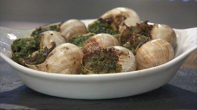 Escargots de Bourgogne aux deux beurres