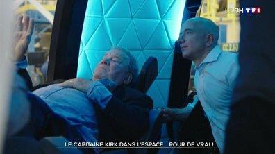 Espace : le capitaine Kirk s'envole pour de vrai