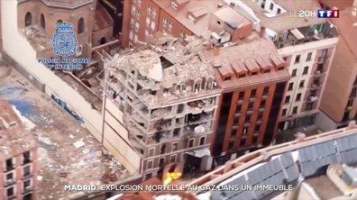 Espagne : explosion mortelle au gaz dans un immeuble de Madrid