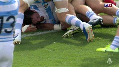 Argentine - Tonga (28 - 0) : Voir le 3ème essai de Montoya en vidéo