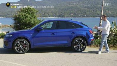 Essai - Audi Q5 Sportback : le SUV coupé branché