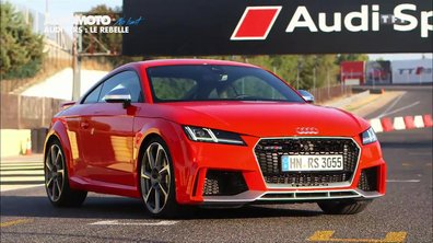 No Limit : L'Audi TT RS 2016 à l'essai