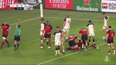 Angleterre - USA (19 - 0) : Voir l'essai de Cowan-Dickie en vidéo