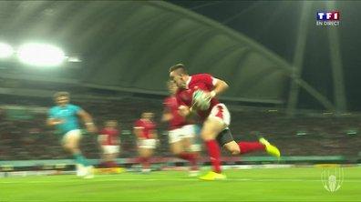 Pays de Galles - Uruguay (14 - 6) : Voir l'essai d'Adams en vidéo