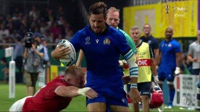 Italie - Canada (36 - 0) : Voir l'essai de Bellini en vidéo