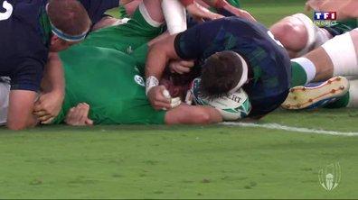 Irlande - Ecosse (12 - 0) : Voir l'essai de Best en vidéo