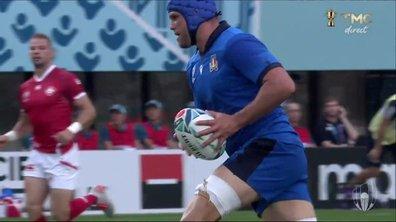 Italie - Canada (17 - 0) : Voir l'essai de Budd en vidéo