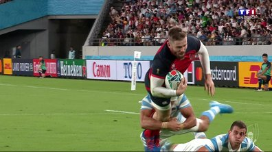 Angleterre - Argentine (10 - 3) : Voir l'essai de Daly en vidéo