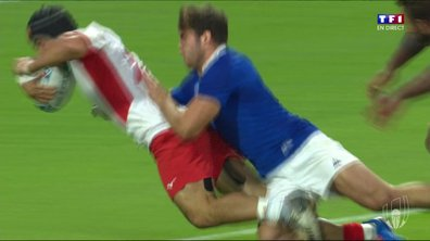 France - Tonga (17 - 14) : Voir l'essai de Hingano en vidéo