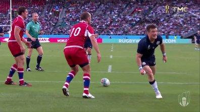 Ecosse - Russie (21 - 0) : Voir l'essai de Horne en vidéo