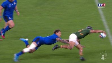 Afrique du Sud - Italie (7 - 0) : Voir l'essai de Kolbe en vidéo