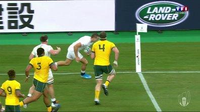 Angleterre - Australie  (7 - 3) : Voir l'essai de May en vidéo