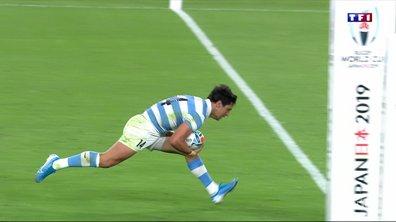Angleterre - Argentine (25 - 10) : Voir l'essai de Moroni en vidéo