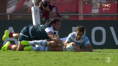 Argentine - USA (7- 0) : Voir l'essai de Sanchez en vidéo