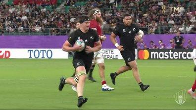 Nouvelle-Zélande - Canada (42 - 0) : Voir l'essai de S. Barrett en vidéo