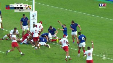 France - Tonga (17 - 7) : Voir l'essai de Takulua en vidéo
