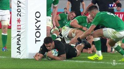 Nouvelle-Zélande - Irlande (29 - 0) : Voir l'essai de Taylor en vidéo