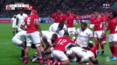 Angleterre - Tonga (8 - 3) : Voir l'essai de Tuilagi en vidéo