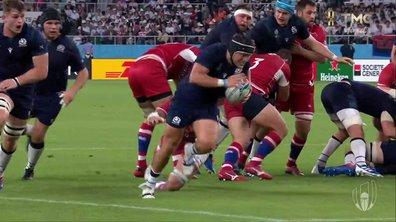 Ecosse - Russie (35 - 0) : Voir l'essai de Turner en vidéo