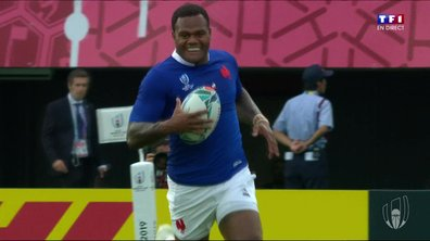 France - Tonga (10 - 0) : Voir l'essai de Vakatawa en vidéo