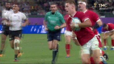 Pays de Galles - Fidji (29 - 17) : Voir l'essai de Williams en vidéo