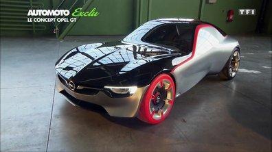 Essai Vidéo - Exclu : le concept-car Opel GT 2016