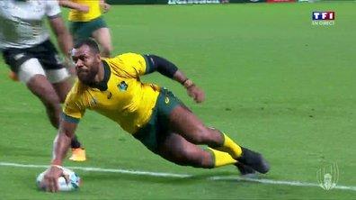 Australie - Fidji (32 - 21) : Voir l'essai de Kerevi en vidéo