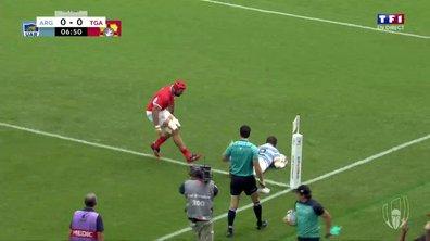 Argentine - Tonga (7 - 0) : Voir l'essai de Montoya en vidéo