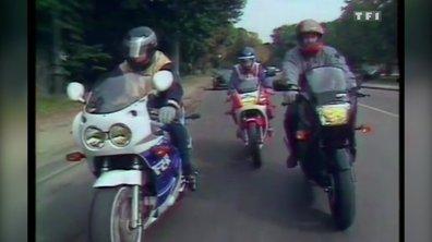 Essai des Yamaha Genesis 1000 FZR, Kawasaki 750 GPX et Honda 750 VFR – Automoto 18 octobre 1986