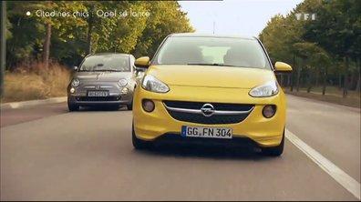 Essai Comparo : l'Opel Adam face à la Fiat 500
