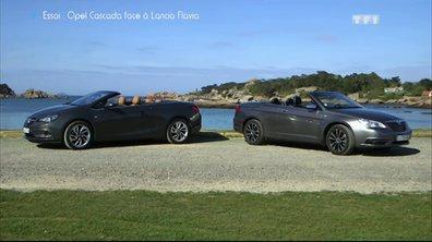 Essai Vidéo : L'Opel Cascada vs Lancia Favia
