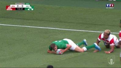 Japon - Irlande (0 - 5) : Voir l'essai de Ringrose en vidéo