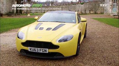 Essai vidéo : Aston Martin V12 Vantage S 2014