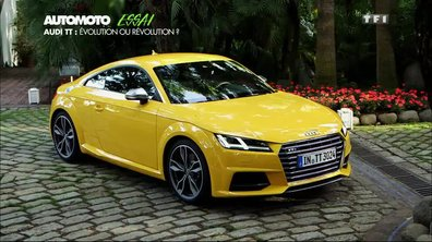 Essai Vidéo : La nouvelle Audi TT 2014