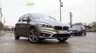 Essai Vidéo : BMW Série 2 Active Tourer vs Mercedes-Benz Classe B