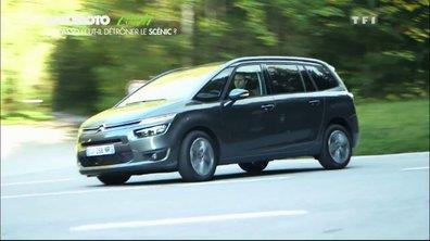 Essai vidéo : le nouveau Citroën C4 Grand Picasso peut-il détrôner le Scénic ?
