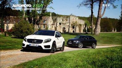 Essai Vidéo : Mercedes GLA vs  Audi Q3, le match !