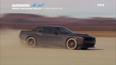No Limit - Exclu : La Dodge Challenger SRT Hellcat