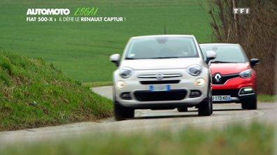 Essai Vidéo : Le Fiat 500X plus fort que le Renault Captur ?